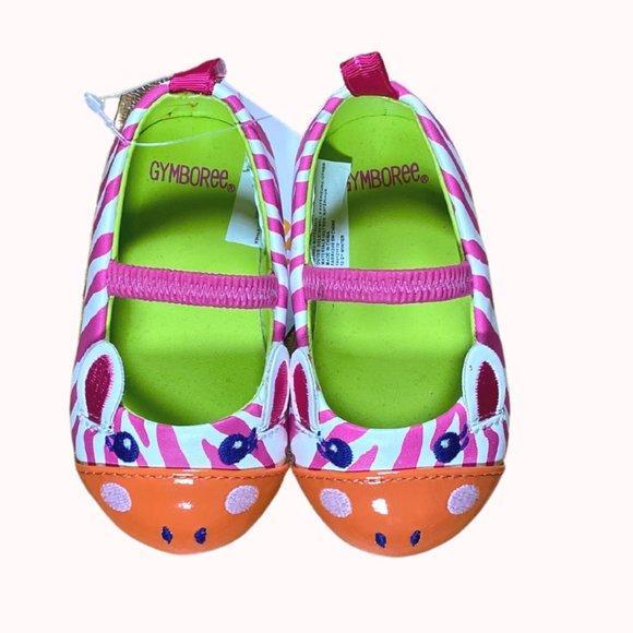 GYMBOREE Zebra Shoes